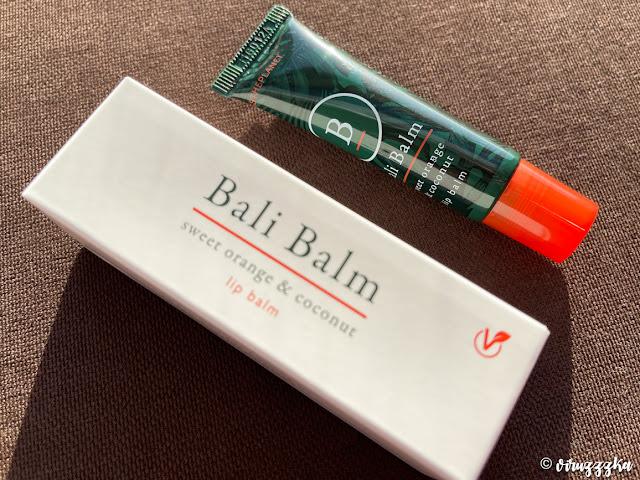 Bali Balm Sweet Orange & Coconut Lip Balm Review