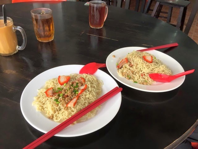 The cheapest mee kolok in miri when gst arrive at t time for X cuisine miri