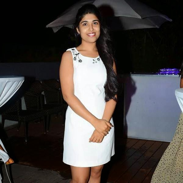 Ankita during the birthday party of Rachana, held in Hyderabad.