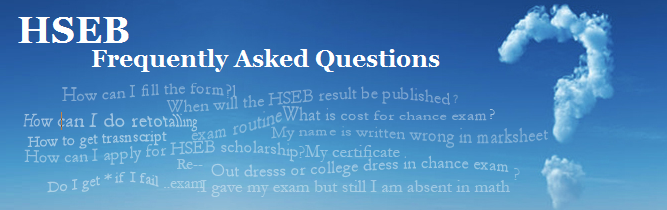 HSEB: Frequently Asked Questions | Lets Learn Nepal