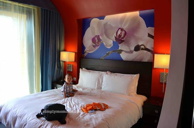 festive hotel staycation