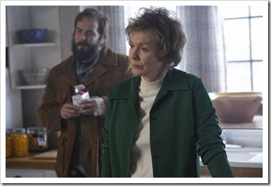 "FARGO -- ""Before The Law"" -- Episode 202 (Airs October 19, 10:00 pm e/p) Pictured: (l-r) Angus Sampson as Bear Gerhardt, Jean Smart as Floyd Gerhardt. CR: Chris Large/FX"