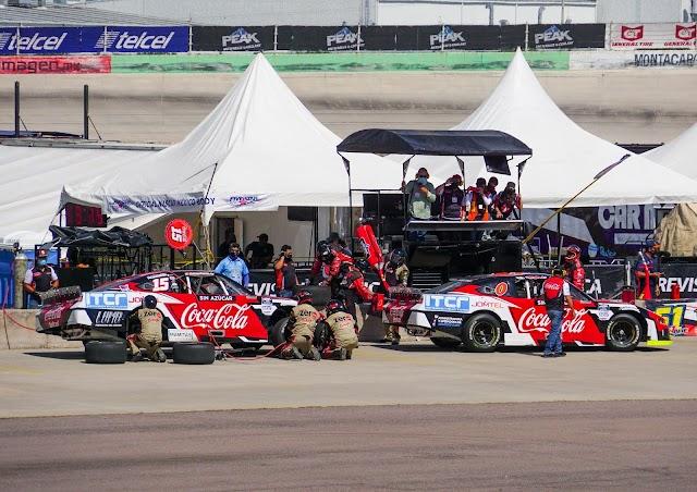 SPARTAC RACING TEAM TERMINA CON ÉXITO NASCAR PEAK AGUASCALIENTES.