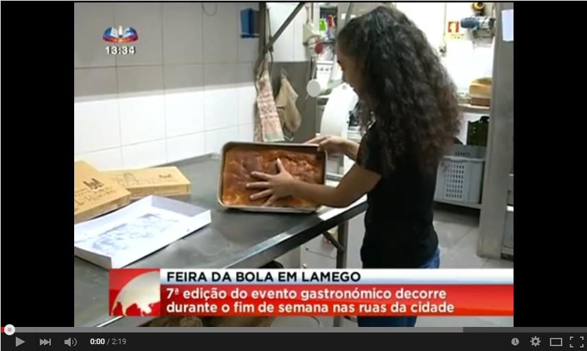 Reportagem SIC - Feira da Bôla decorre este fim de semana em Lamego