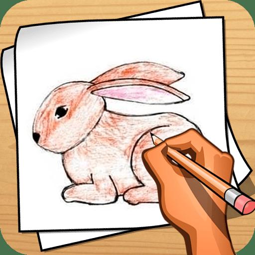 繪製動物 - 教程 程式庫與試用程式 App LOGO-硬是要APP
