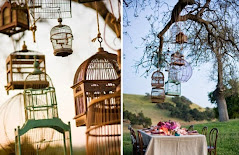 cages bird outdoor wedding