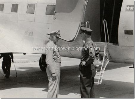 Gen Spastz and Colonel Stewart 1946