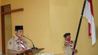 Bekali Pengetahuan Praktis dan Tumbuhkan Semangat Bela Negara, Korem 071/WK Bina Pramuka Saka Wira Kartika