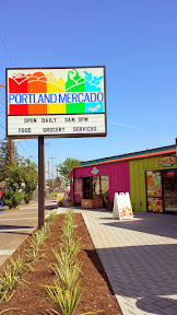 Portland Mercado opened in Portland at SE 72nd and Foster. This corner lot has been a work in progress for 9 years, and it was great to see this dream of a Latino public market, community space, and business incubator finally be realized.