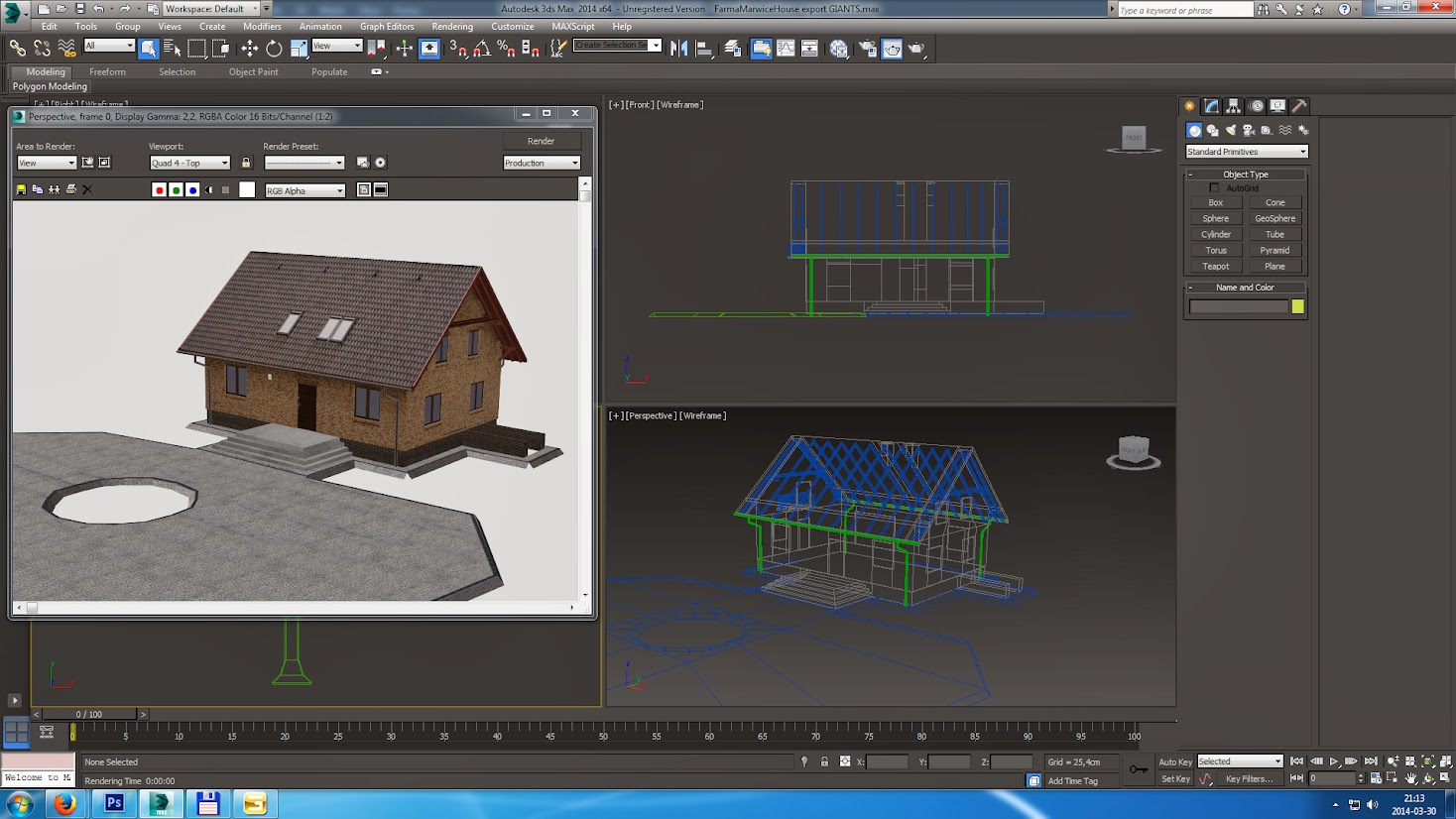 3ds max models after exporting to i3d spreads all over 3d model editor