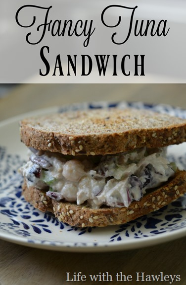 Fancy Tuna Sandwich