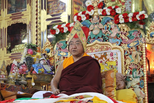His Holiness the Sakya Trizen 2012