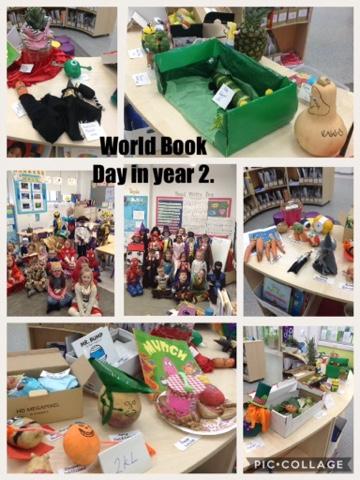 World Book Day in year 2.