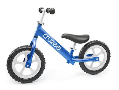 Xe tập thăng bằng Cruzee màu xanh dương