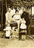 familia caranti - 1900 circa