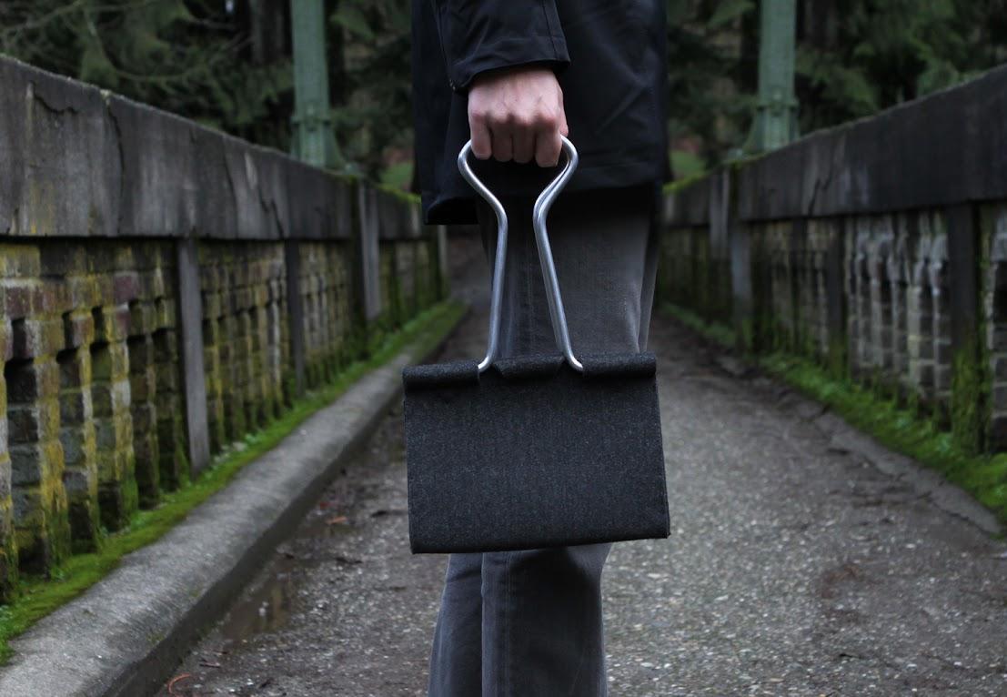 # Clip Bag長尾夾手提包:辦公文具與你形影不離! 14