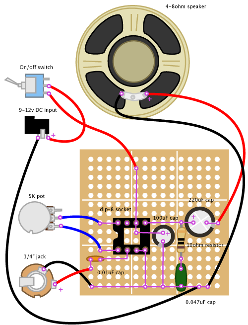 Simple Inter  From A Pair Of Old Corded Phones additionally Puente H Con El Lm386 in addition 50watt MOSFET  lifier furthermore Lm386 Audio  lifier Module High Gain as well Resistor Wiring Diagram. on lm386 mic