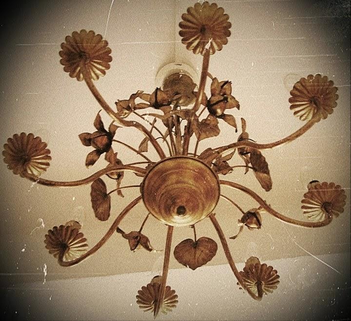 pikkukabinetti lamppu, vanha
