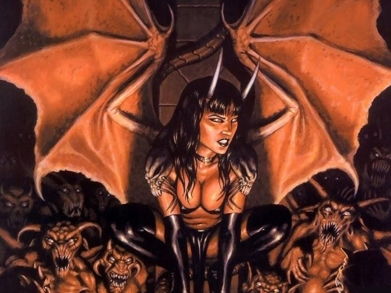 Little Goddess Of Sins, Demons 2