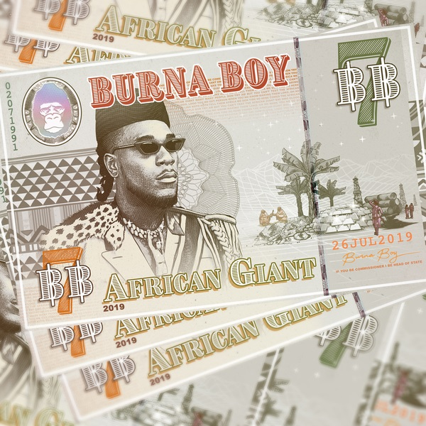 [FULL ALBUM] Burna Boy – African Giant (Zip Download)