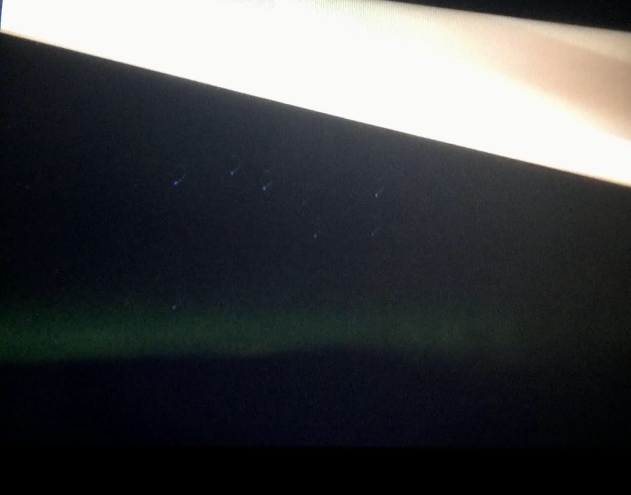 The Big Dipper and green aurora photographed on cruise ship between Iceland & Greenland (Source: Palmia Observatory)