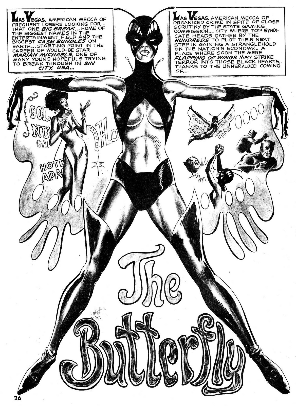 out of this world early black ic book heroes butterfly i Classic 1970s fingers like the beetle as well as the power to use blinding light that preempts the eventual appearance of the dazzler in the x men years later