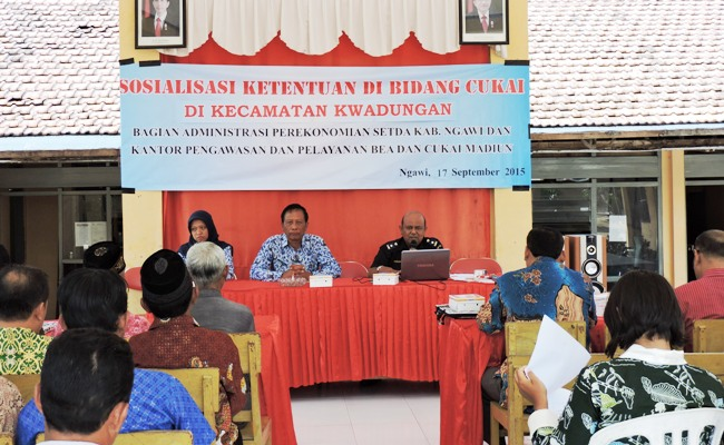 Terhangat di Ngawi: Petugas Hukum mulai pelototi SKPD pengguna Dana Bagi Hasil Cukai Hasil Tembakau (DBHCHT)