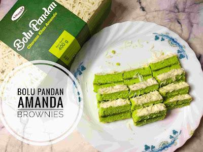 Bolu Pandan Amanda, Varian Baru dari Amanda Brownies Banjarmasin