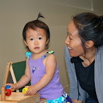 LePort Schools Parent & Child Montessori offers babies rich materials to examine.