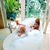 Yeeparipa: Yemi Alade shakes Internet as she shares photo of herself enjoying a bubble bath [18+]