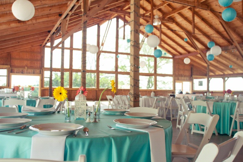 Your wedding support get the look robin 39 s egg blue for Decor vs decoration