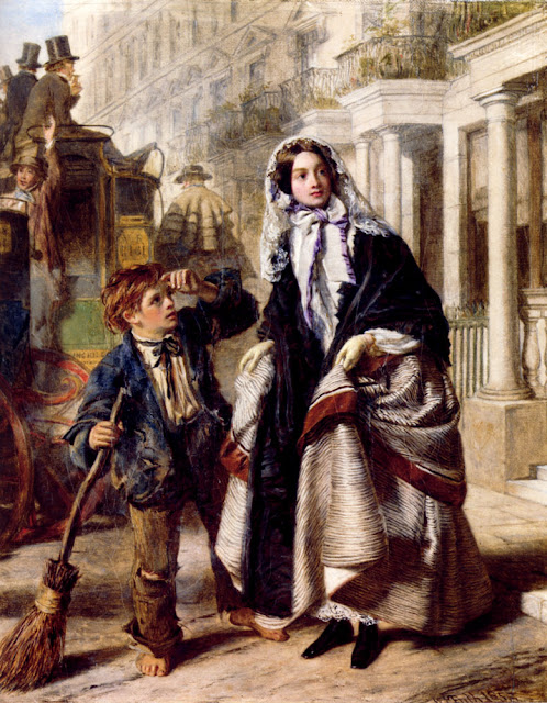 William Powell Frith - The Crossing Sweeper