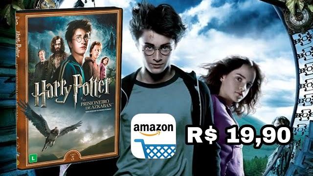 DVD DUPLO: Harry Potter e o Prisioneiro de Azkaban por apenas R$ 19,90