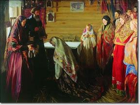 Старинный обряд благословения невесты в городе Муроме..jpg