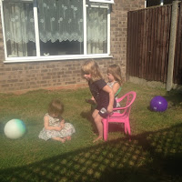 bubbles and cousin time