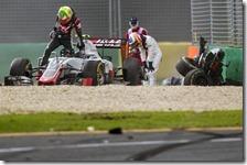 L'incidente di Fernando Alonso nel gran premio d'Australia 2016