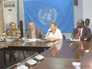 Conférence de l'Onu du 16/10/2013 à Kinshasa. Radio Okapi/ Ph. John Bompengo