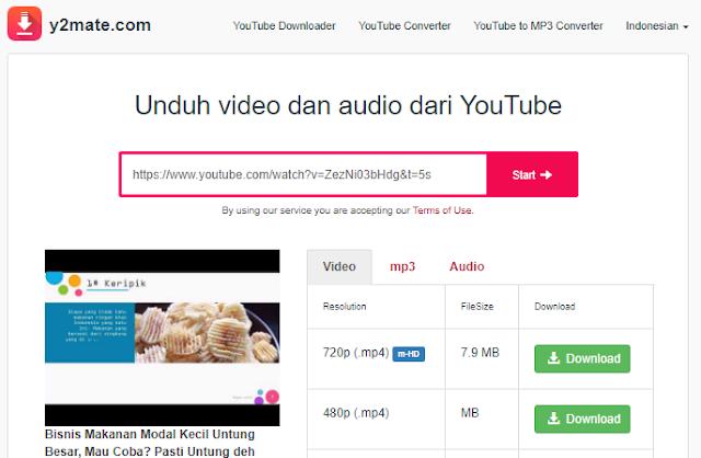 Y2mate.com Cara Download Video YouTube Tanpa Aplikasi