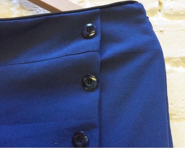Pantalon à pont couture