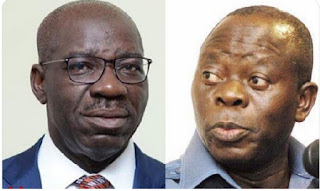 COMRADE ADAMS OSHIOMHOLE FINALLY ENLIGHTEN US ON WHY HE DECIDED TO PREVENT THE SITTING GOVERNOR GODWIN OBASEKI FROM CREATING NEW POLITICAL STRUCTURES