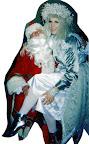 Jill Frost with Santa