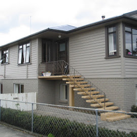 Pt Chevalier Home. This home was completely stripped back and repainted using Resene Cool Colours