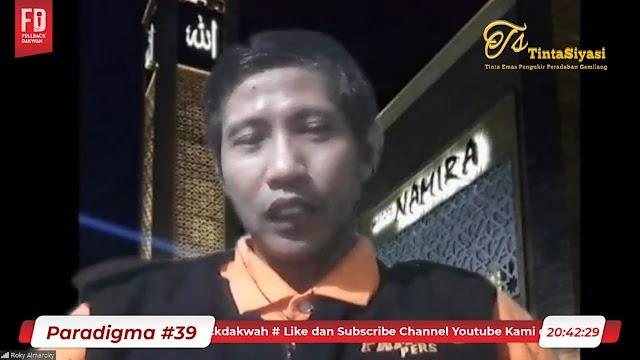 Direktur Pamong Institute: Rakyat Bingung Sosok Pancasilais karena...