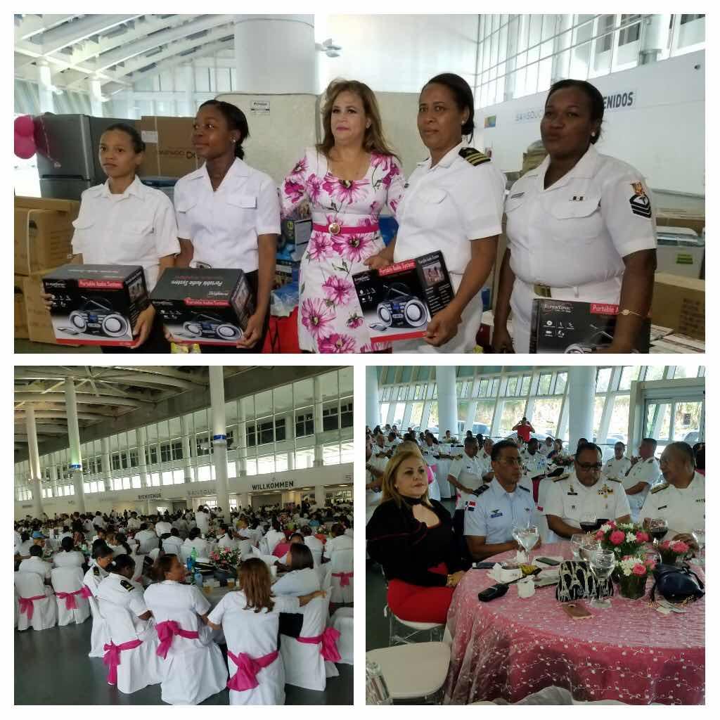 LA ARMADA DE REPÚBLICA DOMINICANA CELEBRA POR TODO LO ALTO GRAN FIESTA PARA LAS MADRES DE LA INSTITUCIÓN
