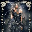 Elven Princess In Black Dress