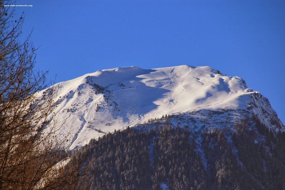 Avalanche Maurienne, secteur Mont Charvin, Partie sommitale - Paravalanche RD 926 - Photo 1