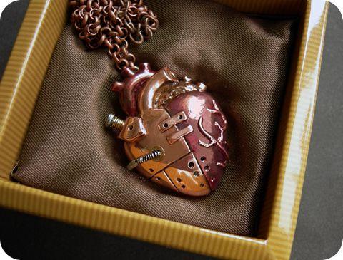Медные механические сердца (Фото 3)
