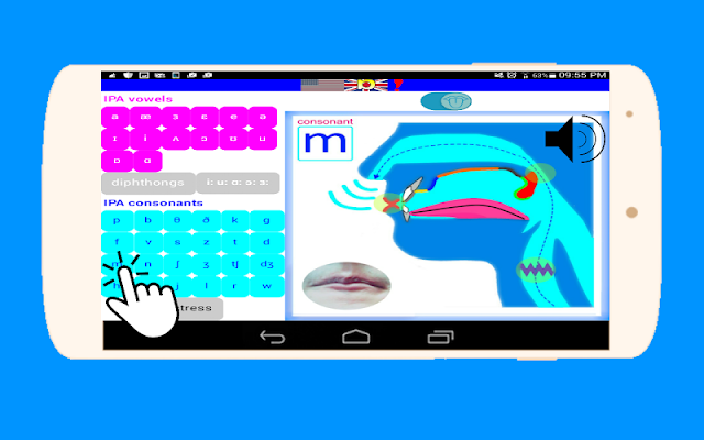 Phonetics Lips English - screenshot