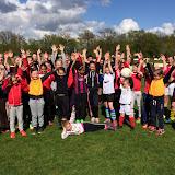Voetbalclinic voor meiden bij VV Gorssel