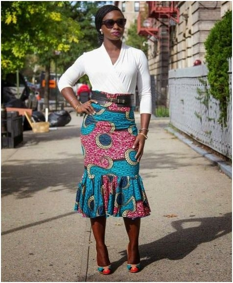 Latest African Kitenge Dress Designs 2016 2017 Fashion 2d